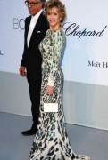 Jane Fonda - Sexy in a tight dress @ AMFAR's Cinema against AIDS Gala
