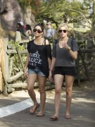 Эшли Бенсон, фото 387. Ashley Benson at Busch Gardens in Tampa Bay 03/03/12*with Vanessa Hudgens, foto 387,