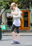 Dakota Fanning out in NY City on June 28th in spandex pants 8 HQ pics